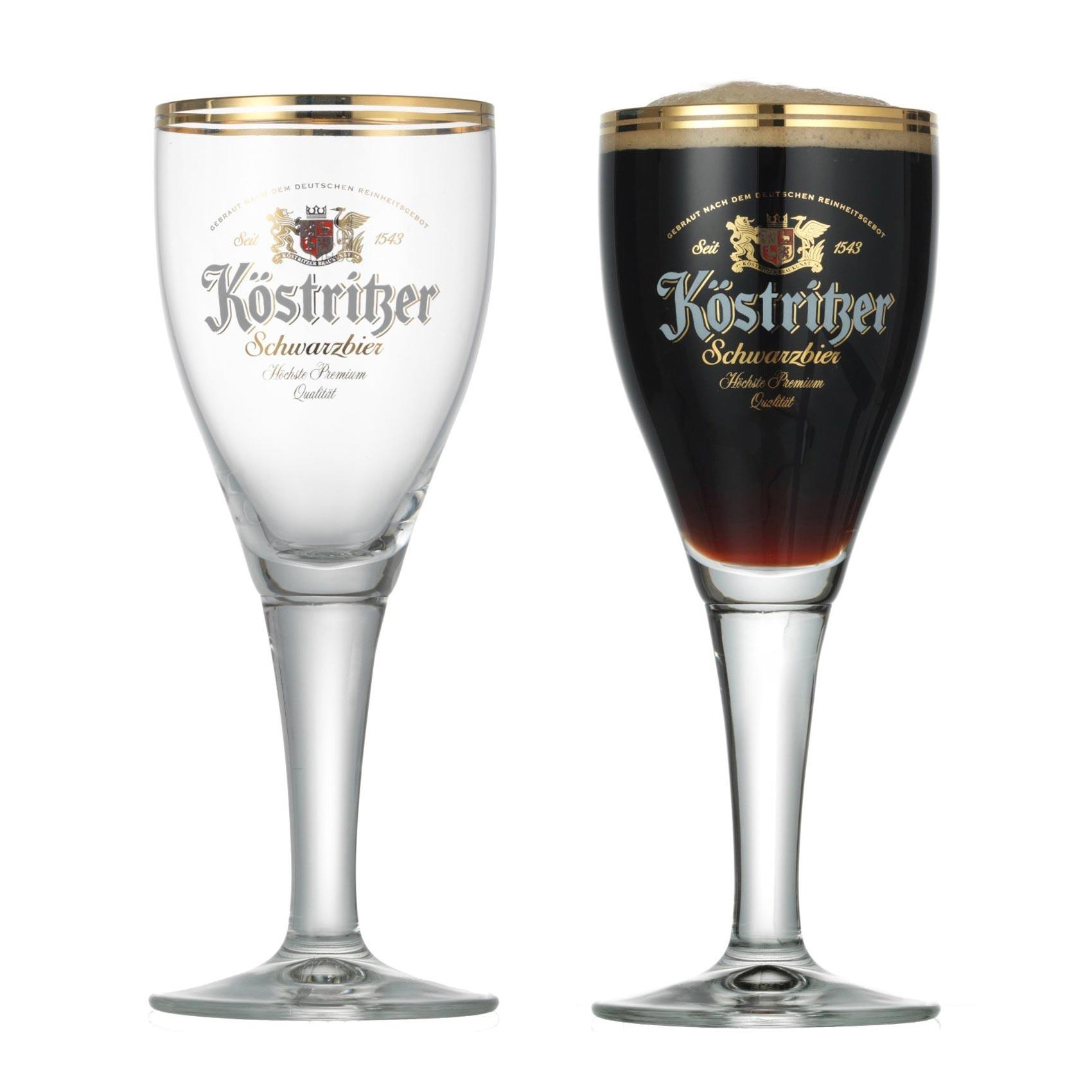 cocktail gl ser k stritzer biergl ser 2er set schwarzbiergl ser mit logo. Black Bedroom Furniture Sets. Home Design Ideas