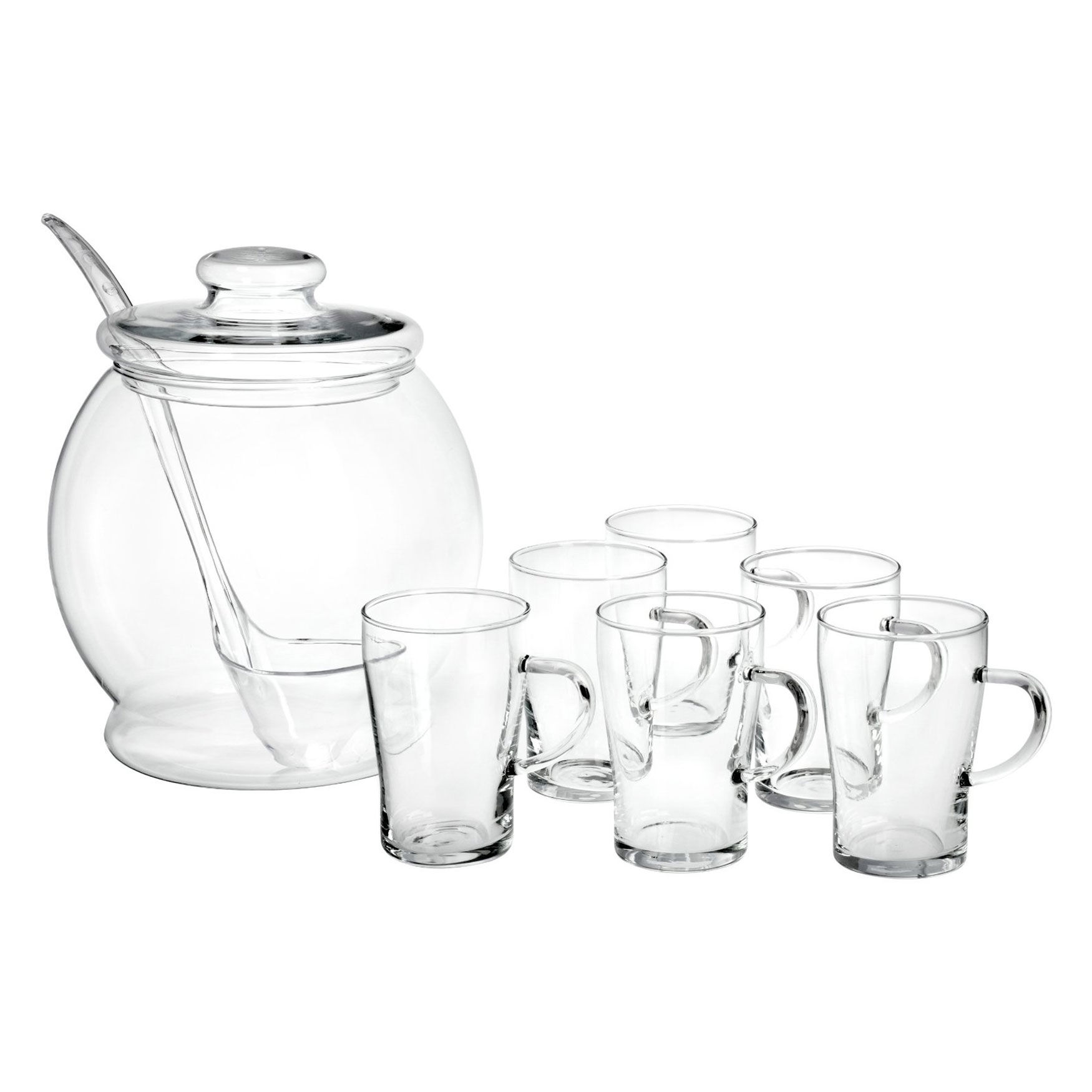 cocktail gl ser bohemia cristal simax punsch und bowle 9er set kostenlose lieferung. Black Bedroom Furniture Sets. Home Design Ideas