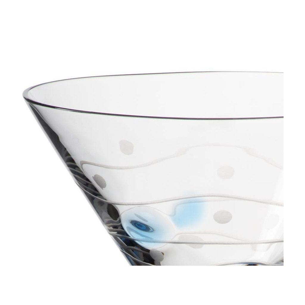 Cocktail Gl Ser Cristalica Martinikelch 220ml Exklusives