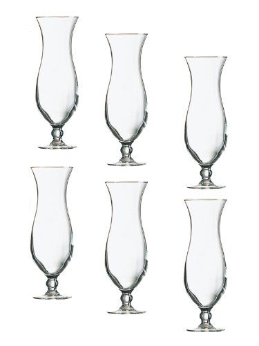 Cocktail Gläser cocktail gläser colada cocktailglas elegance hurricane pina 6er set