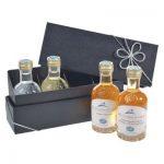 Geschenkset Grappa 100ml Mini-Flaschen VOM FASS in edler Box