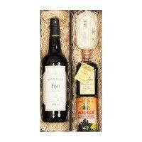 Geschenkset-Sherry-fuer-Geniesser-Sherry-Essig-verschiedene-Tapas-Geschenkbox