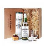 Laphroaig 10 Whisky Genießer Set – Geschenkidee mit Nosing Gläsern