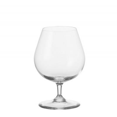 Leonardo-019837-Cognacglas-Set-Ciao-6-teilig-stossfest-aus-teqton