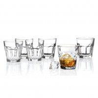 Libbey-Leerdam-922208-Whiskybecher-6er-Rocks-26cl-Tumbler-Glas-1