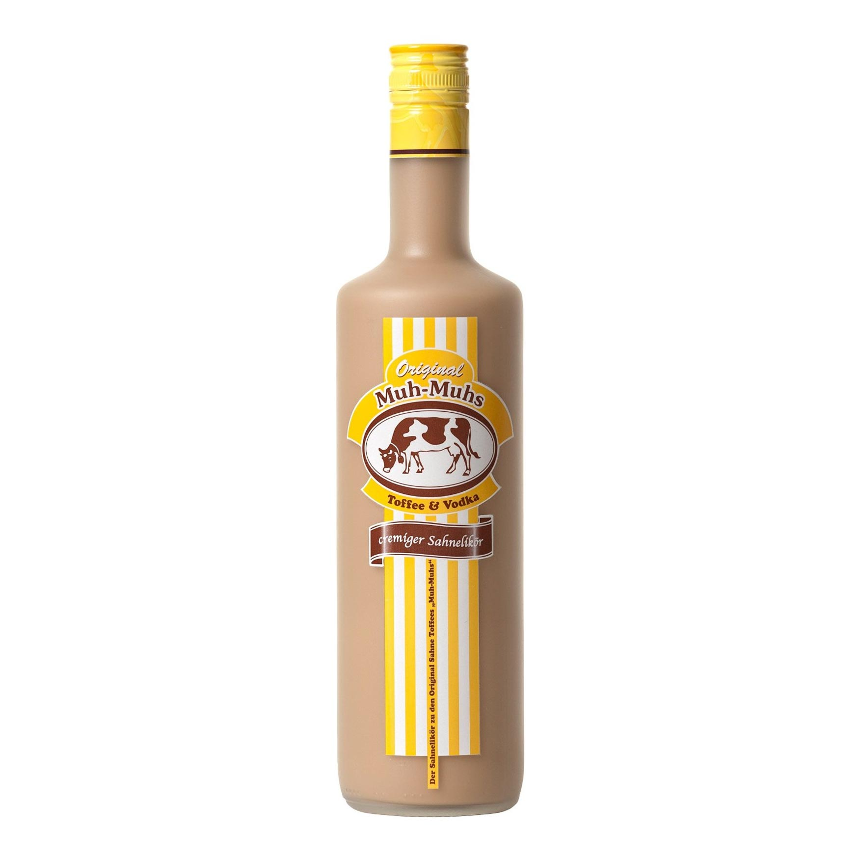 Cocktail-Gläser Original Muh-Muhs Toffee & Vodka Sahne-Likör - 70cl ...