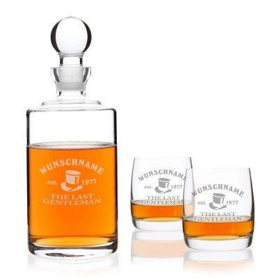Privatglas-Whiskeyglaeser-Bohemia-2er-Set-mit-Karaffe-und-kostenloser-Gravur-1