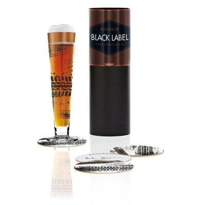 Ritzenhoff-1010211-Bierglas-Berktold-H13-Designer-Glas-Black-Label