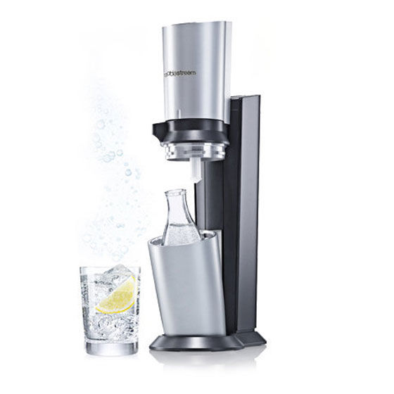 cocktail gl ser sodastream wassersprudler crystal inkl alu zylinder. Black Bedroom Furniture Sets. Home Design Ideas
