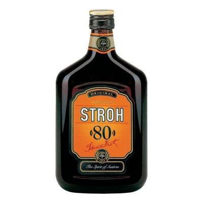 Stroh-80-Original-Rum-100cl-Flasche-fuer-Feuerzangenbowle