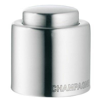WMF-0641036030-Sektflaschenverschluss-Verschlusskappe-Edelstahl-Clever-and-More-Champagne