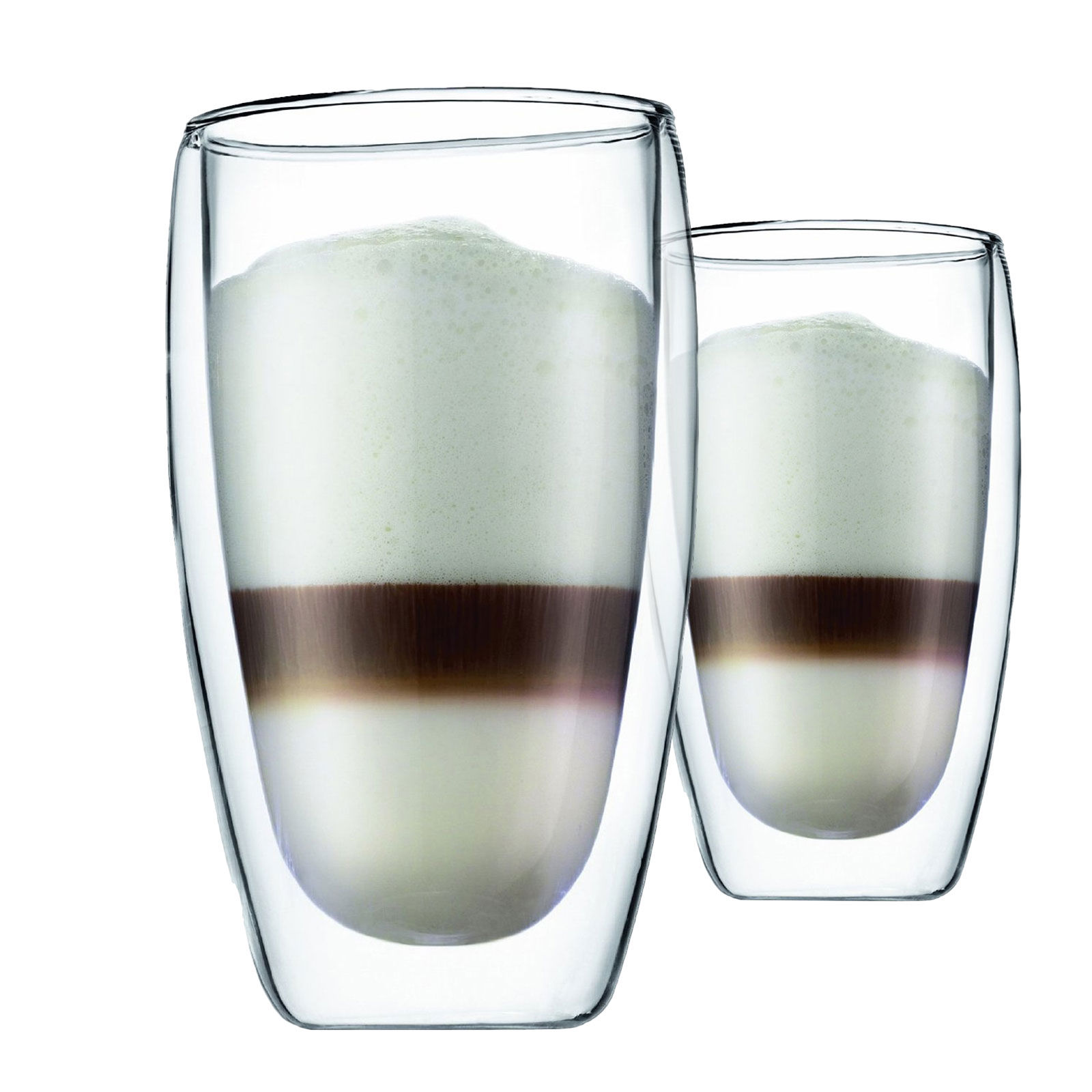 cocktail gl ser bodum pavina doppelwandige gl ser 2er set 450ml f r latte macchiato. Black Bedroom Furniture Sets. Home Design Ideas