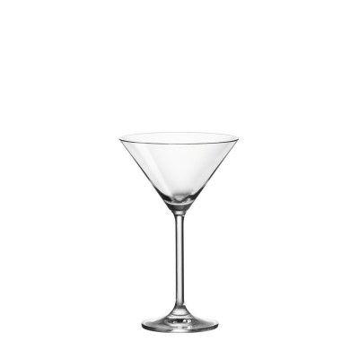 kleines Trinkglas aus klarglas fuer Cocktails