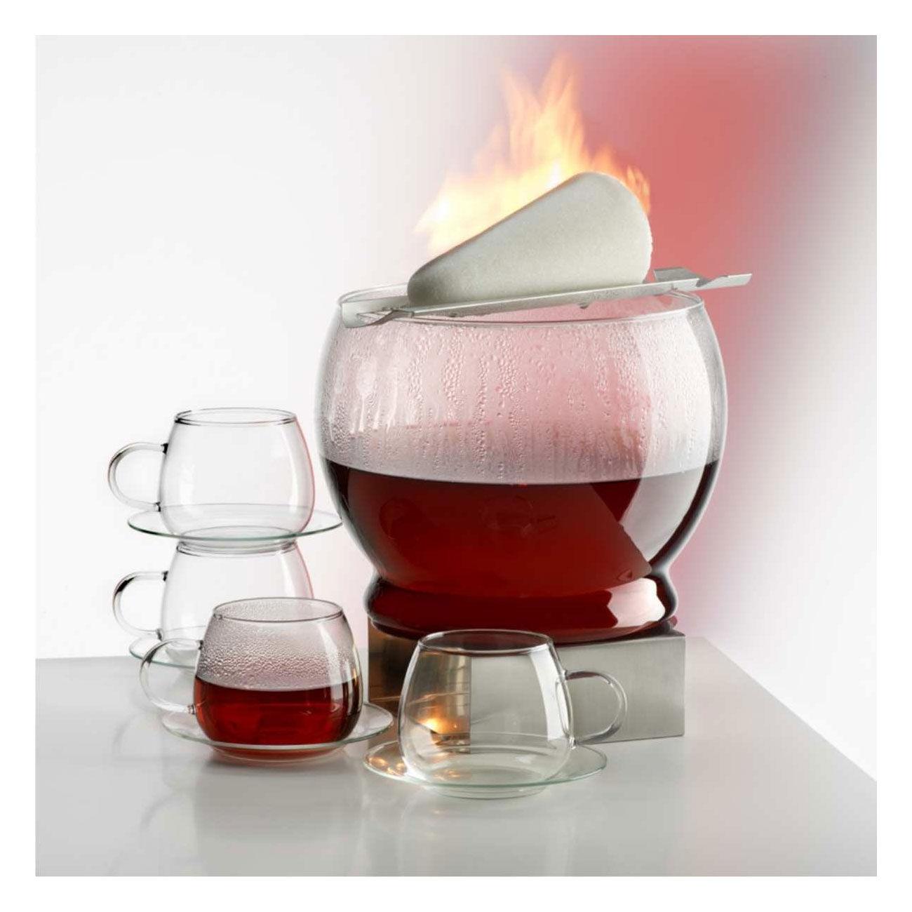 Cocktail-Gläser Bohemia SIMAX Feuerzangenbowle Sinfonie