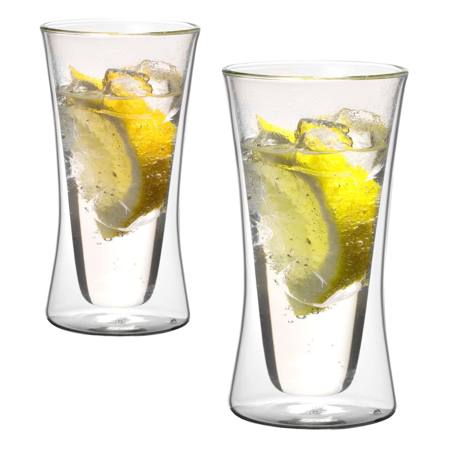 Beliebt Cocktail-Gläser Thermoglas 300ml XXL doppelwandig Modell Belly AX39